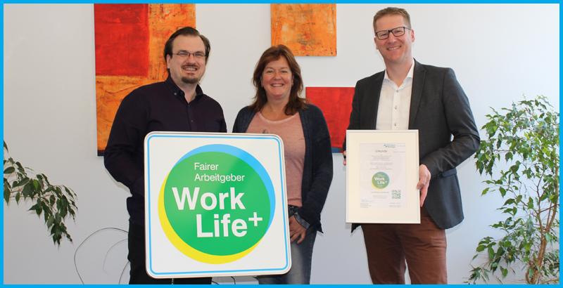 Work Life Plus Arbeitgebersiegel für die S|E|K Steuerberatungsgesellschaft