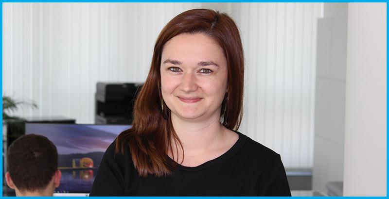 Laura Thiel ist gern bei Alter Solutions Deutschland