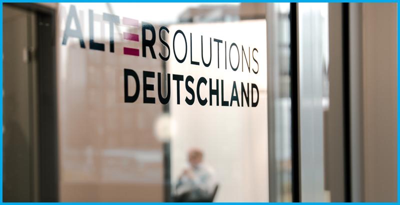 Eingang Alter Solutions Deutschland